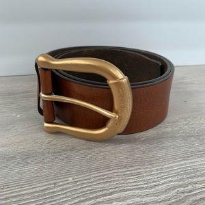 MICHAEL Michael Kors leather belt, ladies M